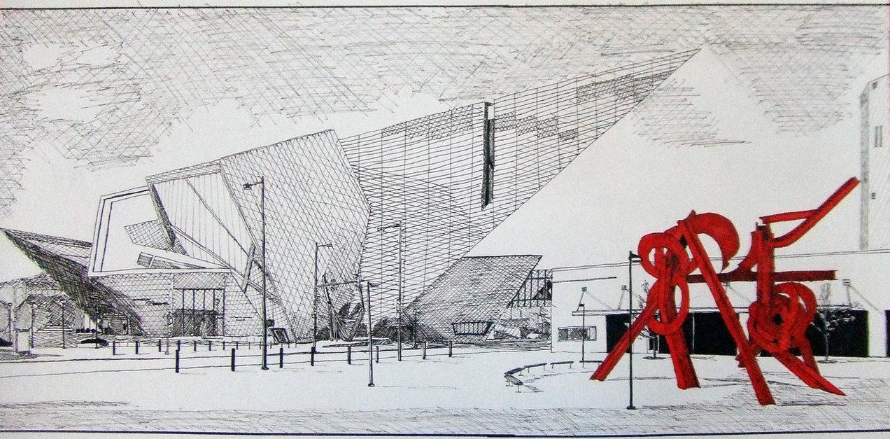 Radar libeskind denver art museum by hughharan for Denver art museum concept