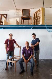 Pedro Artacho e seus irmãos