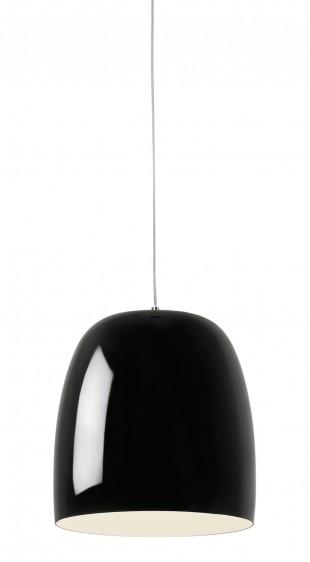 _La Lampe_Riva black, com acabamento brilhante, medidas 32 cm x 30 cm, de R$ 688,00 por R$ 332,00_alta