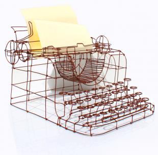 Maquina escrever cortada