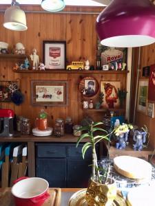 A cozinha da casa do Lucas