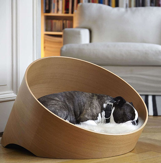 Modern Pet Wood Furniture Dog Bed Cat 200617