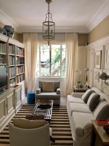 sala íntima do apartamento de Marco do Carmo e Alberto Lahós